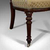 Set of 4 Antique Chairs, Scottish, Walnut, Suite, Dining, Victorian c.1890 (7 of 12)
