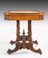 Hardwood Danish Basin Table from the Third Quarter of the 19th Century (6 of 7)