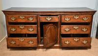 Mid 18th Century George III Large Oak Dresser Base (3 of 11)