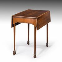 Chippendale Period Mahogany Pembroke Table (2 of 6)
