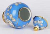 Rosenthal German Porcelain Lidded Jar & Cover with En Grisaille Roses Decoration c.1935 (2 of 15)