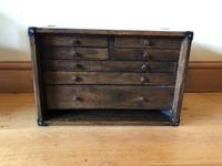 Engineers Desk Chest with 7 Drawers