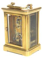 Superb Miniature French 8 Day Carriage Clock Lever Platform c.1880 Working (7 of 10)
