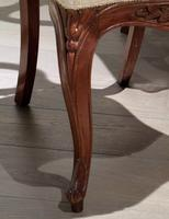 Pair of 19th Century Carved Satinwood Balloon Back Chairs (7 of 9)