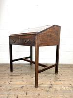 Antique Mahogany Clerk's Desk or Bureau (8 of 10)