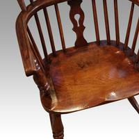 Pair of 19th Century Windsor Armchairs (6 of 6)