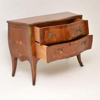 Antique French Inlaid Marquetry Bombe Chest (10 of 11)