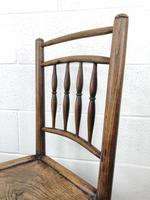 Set of Four 19th Century Elm Country Chairs (8 of 13)