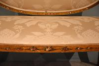 Satinwood Painted Sofa From 19th Century (2 of 6)