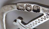 Edwardian 1901 Hallmarked Solid Silver Nurses Belt Buckle Charles W Comyns (6 of 7)