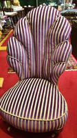 Unusual French 19th Century Upholstered Child's Chair (4 of 7)