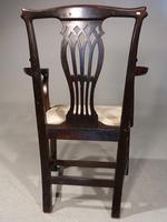 Early 20th Century Neoclassical Mahogany Elbow Chair (5 of 5)