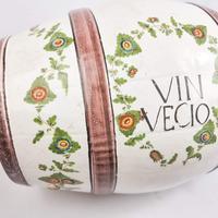 Italian Majolica Wine Barrel Vin Vecio (4 of 6)