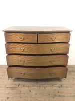 Edwardian Inlaid Mahogany Serpentine Chest of Drawers by Waring & Gillow (M-1489) (3 of 16)