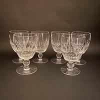 Six Waterford 'Colleen' Water Glasses