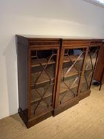 Edwardian Breakfront Bookcase (3 of 13)