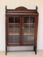 Oak Glazed Bookcase (2 of 10)