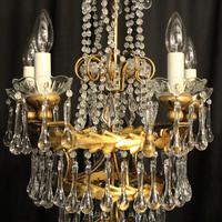 Italian Florentine Pair Of 5 Light Chandeliers (7 of 7)