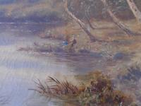Oil on The Conway by Sidney Yates Johnson (4 of 6)