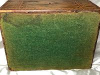 Fine Antique Mid Victorian 19th Century Tunbridge Sewing Workbox Parquetry Inlaid (7 of 12)