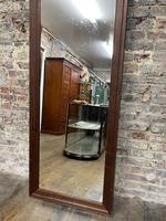 Steel Framed Mahogany Mirror (3 of 5)