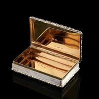 Rare Antique Georgian Solid Silver Mazeppa Snuff Box - Edward Smith 1836 (17 of 23)