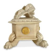 Alabaster Trinket Box (4 of 7)