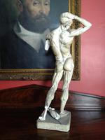 Écorché Figure, Anatomy of Man by Édouard Lantéri, 1901