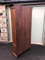Arts & Crafts Glazed Oak Bookcase (7 of 11)
