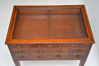 Antique Georgian Period Inlaid Mahogany Display Case Table (11 of 12)