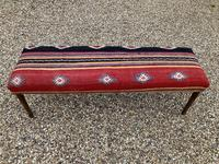 Kilim Covered Bench Stool (2 of 8)