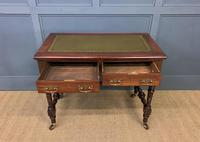 Good Late Victorian Mahogany Writing Table (7 of 14)