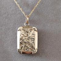 Victorian 9ct Gold Locket (8 of 8)