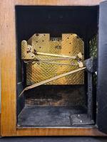 19th Century Walnut Mantle Clock (6 of 6)