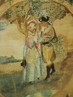 Pair of Late George III Mahogany Pole Screens (7 of 11)