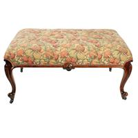 Large Victorian Rosewood Centre Stool (7 of 9)