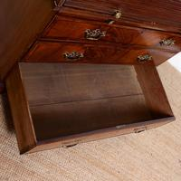 Cylinder Bureau Georgian Writing Desk Chest (10 of 12)
