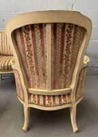 Lovely Pair of French Bergere Chairs (3 of 4)