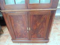 Mahogany Flame Astral Glazed Corner Cupboard 1780 (3 of 10)
