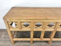 Victorian Pine Church Altar Table in Gothic Design (9 of 14)