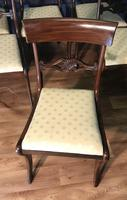 Mahogany Dining Table & Set of 10 Regency Style Chairs (9 of 19)