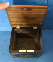 Victorian Italian  Sorento Ware Single Tea Caddy (2 of 16)