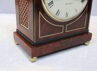 Regency Mahogany Bracket Clock by Thomas Connald (7 of 8)