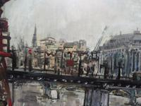 Large Oil on Board The Thames Listed Artist Sheila Appleton (8 of 12)