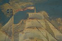 19th Century Maritime Oil on Board Topsail Schooner (9 of 10)