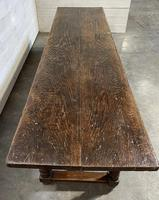 Wonderful Antique Large Refectory Farmhouse Dining Table (2 of 31)
