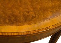 George III Mahogany & Satinwood Card Table (4 of 9)