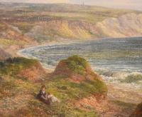 Fine Oil Painting of the White Cliffs of Dover (5 of 7)