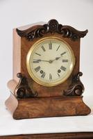 W&H Walnut Bracket / Mantel Clock