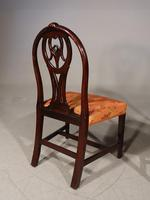 Good Late 18th Century Pair of Mahogany Hooped Back Single Chairs (4 of 5)